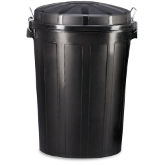 Contenedor de desperdicios 70 litros con tapa