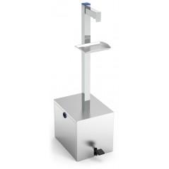 Dispensador a pedal de gel hidroalcohólico para garrafas 5L