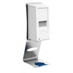 Dispensador automático de gel hidroalcohólico con soporte de sobremesa