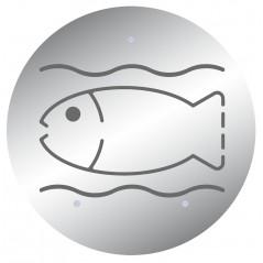 Exterminador de insectos decorativo para pescaderia