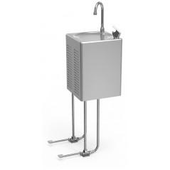 Fuente de agua fría de pared a pedal