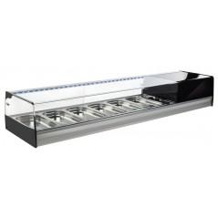 Vitrina de bar refrigerada con cubetas modelo 20R