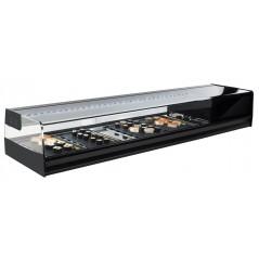 Vitrina de sushi refrigerada