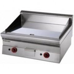 fry top a gas con placa lisa
