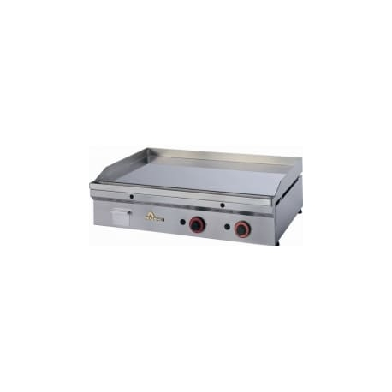 Fry top cromo duro termostático a gas