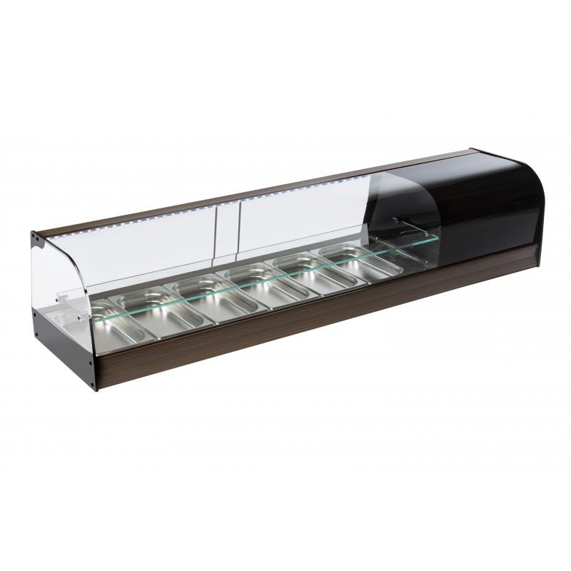 Vitrina de bar refrigerada con cubetas - modelo FR ie