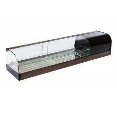 Vitrina de bar refrigerada con parrillas - modelo FR iE
