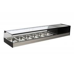 Vitrina de bar refrigerada con cubetas - modelo R i
