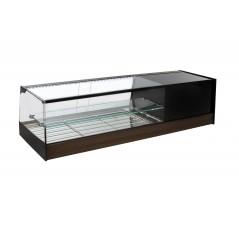 Vitrina de bar refrigerada con parrillas - modelo R iE