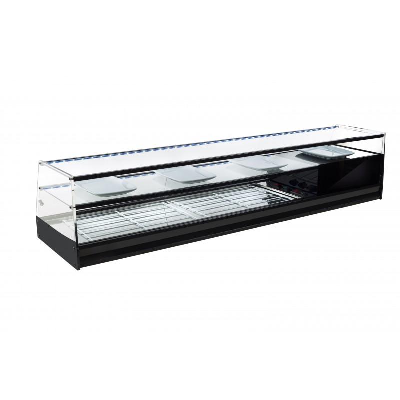 Vitrina de bar refrigerada con parrillas - modelo ABF