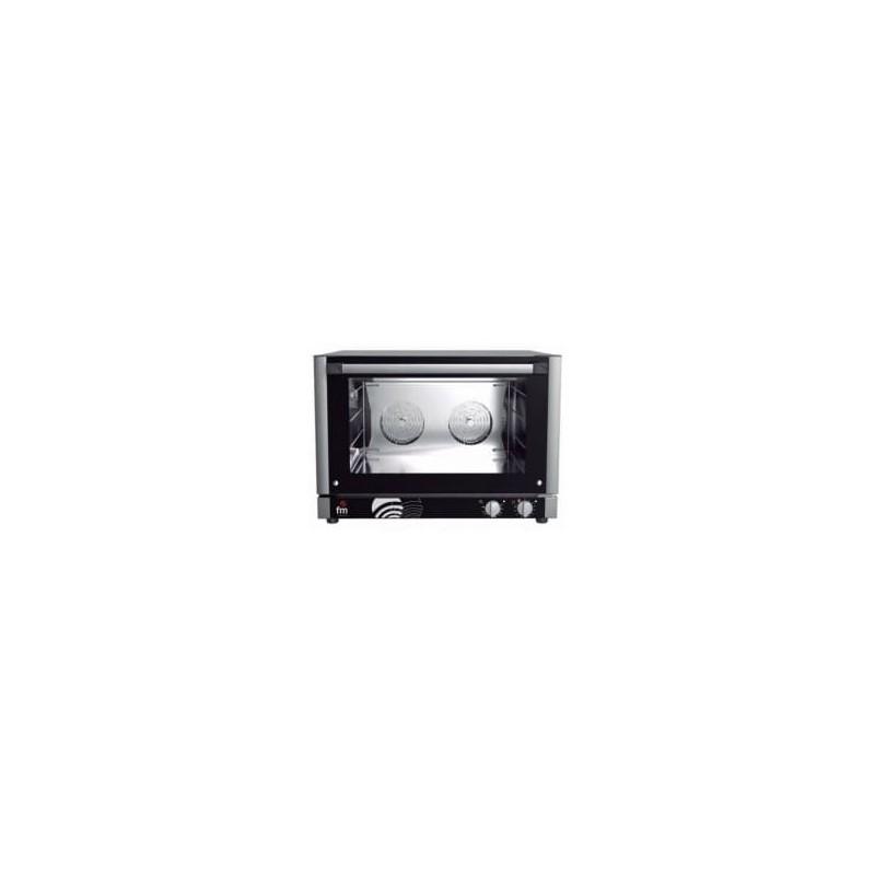 Horno panadería 4 bandejas de 600x400 mm, trifásico de alta potencia de FM