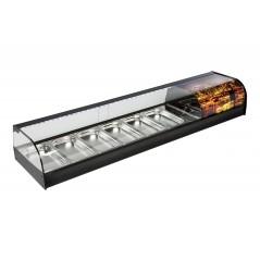 Vitrina de bar refrigerada con cubetas - modelo VN