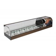 Vitrina de bar refrigerada con cubetas - modelo VN-E