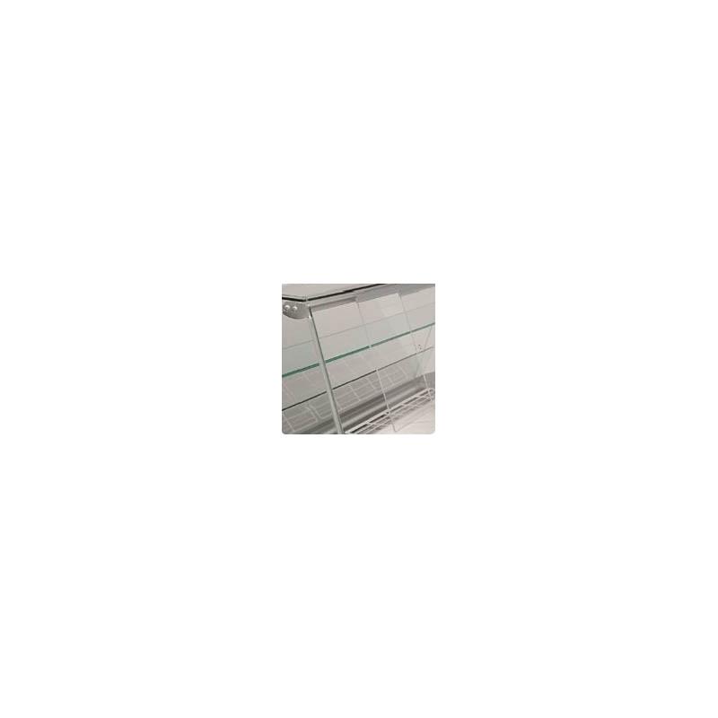 Puertas correderas traseras para vitrina serie GLACÉ C/CN
