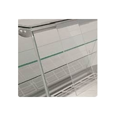 Puertas correderas traseras para vitrina serie GLACÉ R/RN