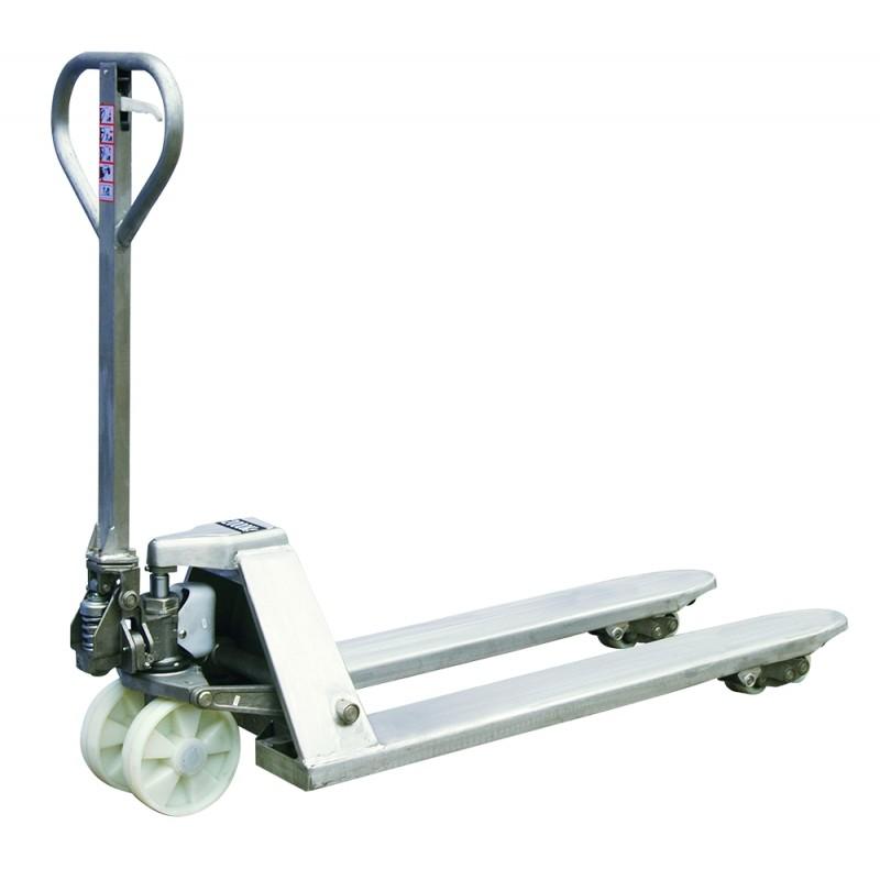 Transpaleta manual en acero inoxidable Basic 2000 kg