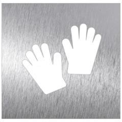 Pictograma covid guantes
