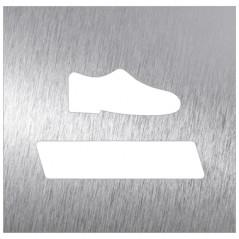 Pictograma covid desinfección de calzado