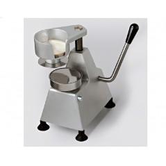 Maquina hamburguesera manual en varios diametros MH