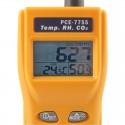 Medidor de CO2 portátil con alarma PCE-7755