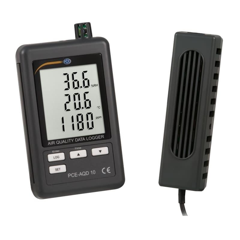Medidor de CO2 fijo con registro de datos AQD-10