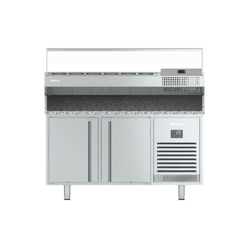 Mesa refrigerada Gastronorm pizza serie 700 MPG/ME VIP