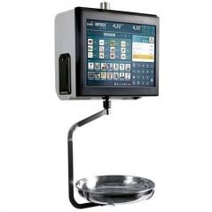 Balanza táctil con impresora térmica de ticket, modelo XS TouchScale