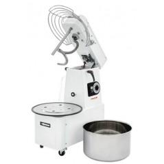 Amasadora a espiral para pizza con cabezal y cuba extraibles Modelo IMR/ITR 30