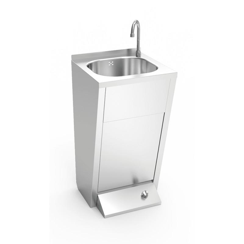 Lavamanos con un pulsador de agua fría y caliente - 061012