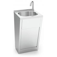 Lavamanos registrable electrónico agua fría y caliente. Modelo 061010