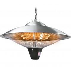 Lámpara calefactora eléctrica para colgar acero inox