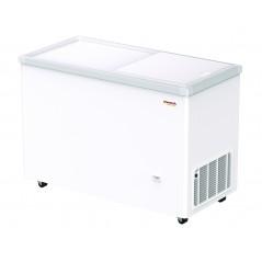 Arcón congelador puerta corredera opaca Savemah