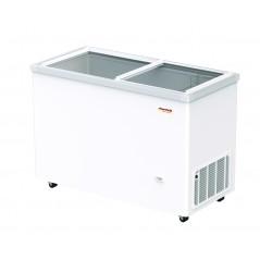 Arcón congelador puerta corredera transparente Savemah