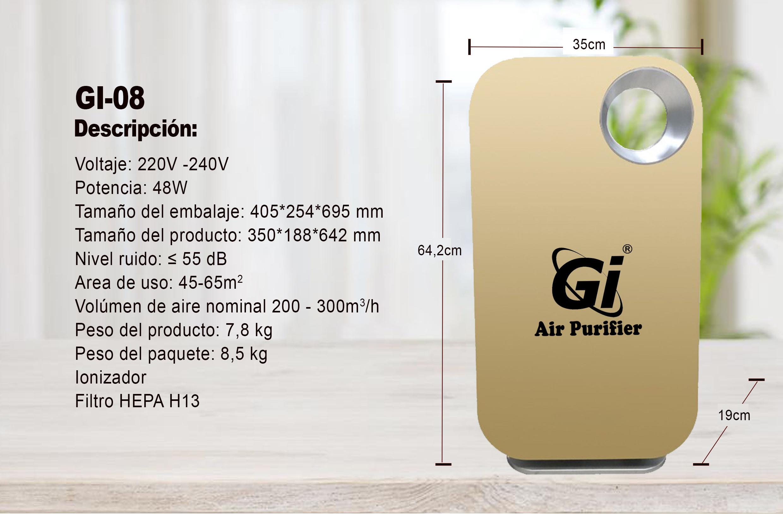 Especificaciones GI-08